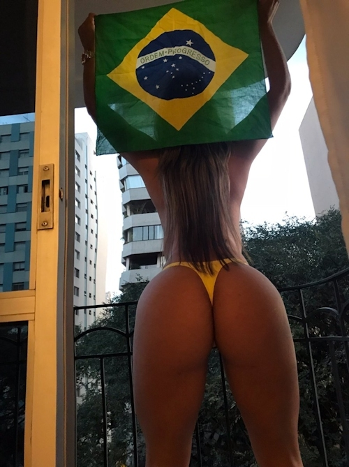 ワールドカップを観て興奮した女性たちがTwitterにアップしてたセクシー画像特集 2