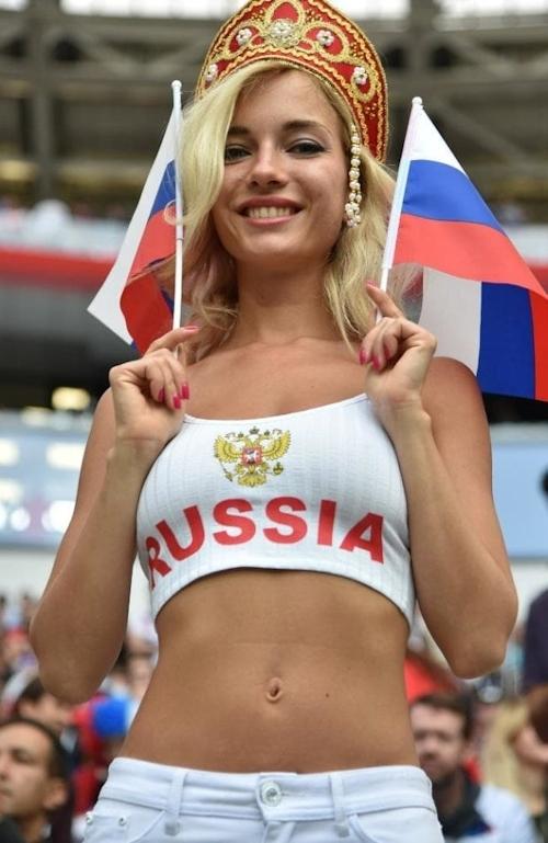 ロシア美人サポーター Natali Nemtchinova 1