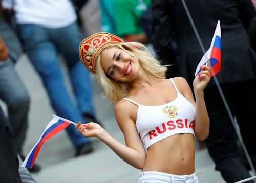 ロシア美人サポーター Natali Nemtchinova 4