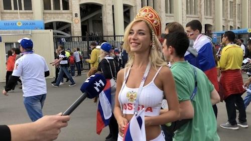 ロシア美人サポーター Natali Nemtchinova 5