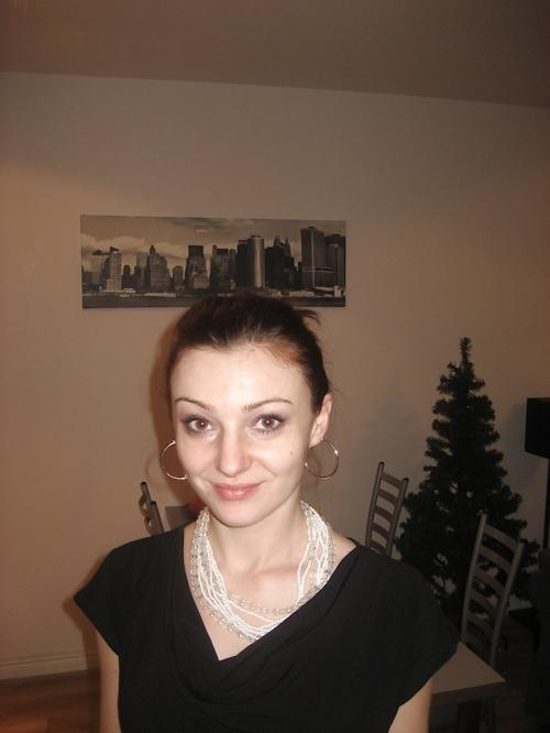 ポーランド素人美女のプライベートヌード画像 1
