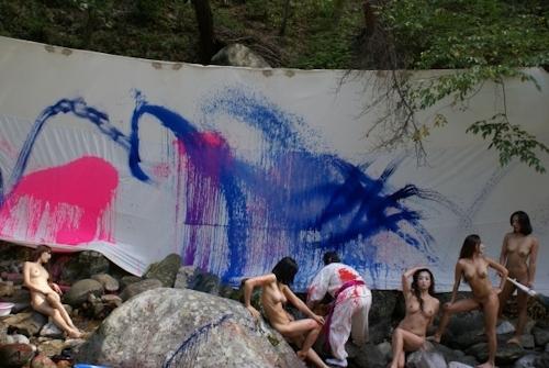 野外ヌード撮影会の画像 3