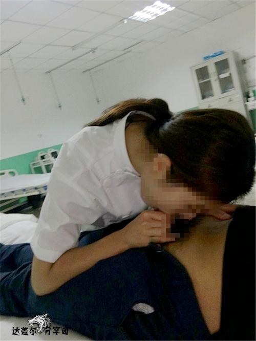 病院内でナースとセックスしちゃってるハメ撮り画像 5