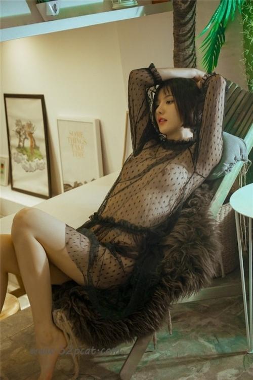 Cカップ美乳&パイパンな中国極品美女モデル 轰趴猫(PartyCat) セクシーヌード画像 1