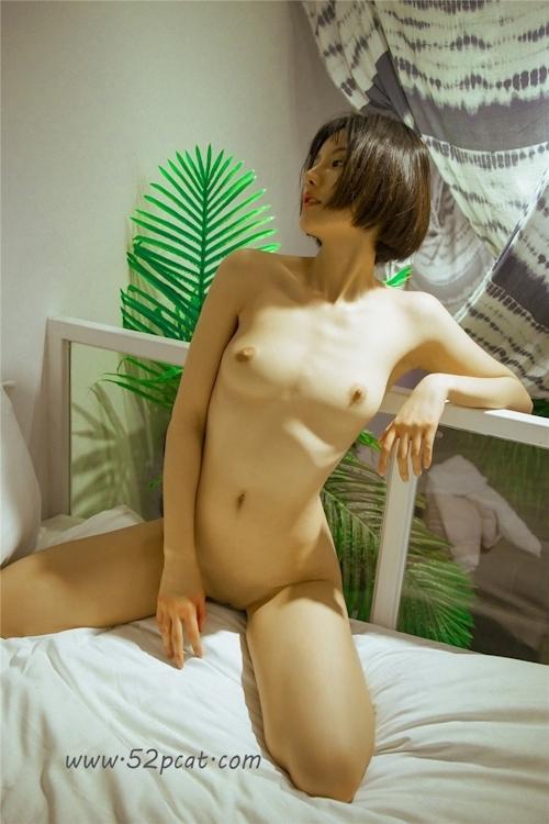 Cカップ美乳&パイパンな中国極品美女モデル 轰趴猫(PartyCat) セクシーヌード画像 3