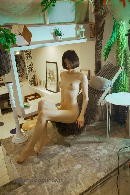 Cカップ美乳&パイパンな中国極品美女モデル 轰趴猫(PartyCat) セクシーヌード画像 6