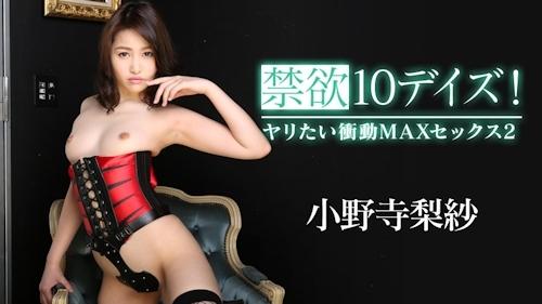禁欲10デイズ!ヤリたい衝動MAXセックス2 小野寺梨紗 -カリビアンコム