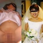 新婚妻のウエディングドレス写真と流出ヌード画像特集2