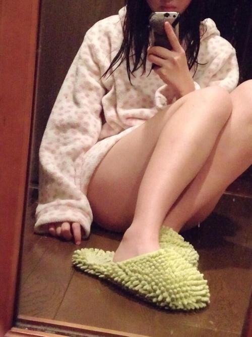 21歳新人美人ナースの自分撮りセクシー画像 4