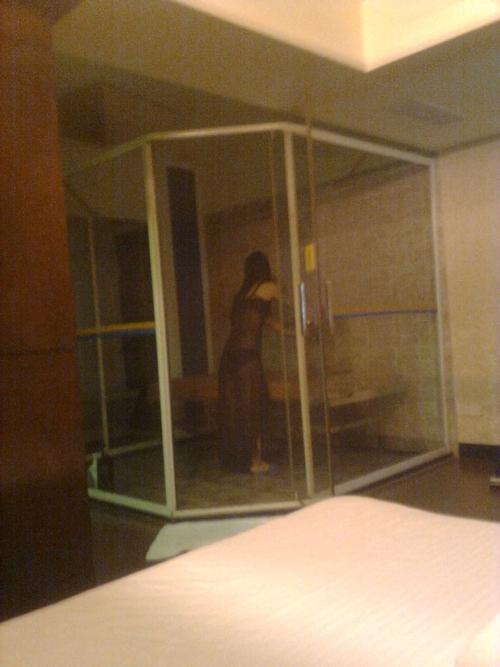 中国の高級会員制風俗店のスレンダー美人風俗嬢のヌード画像 11