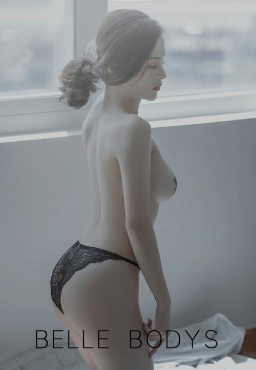 美巨乳な中国美女モデルのセクシーヌード画像 4