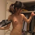 スレンダーな日本の素人美女の流出ヌード画像