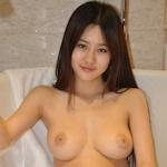 中国の巨乳美少女モデルのヌード画像
