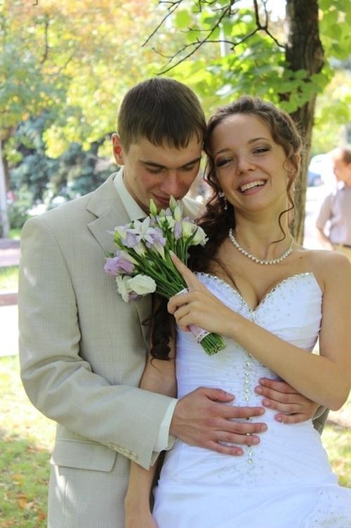 西洋の新婚美人若妻のプライベートヌード流出画像 1