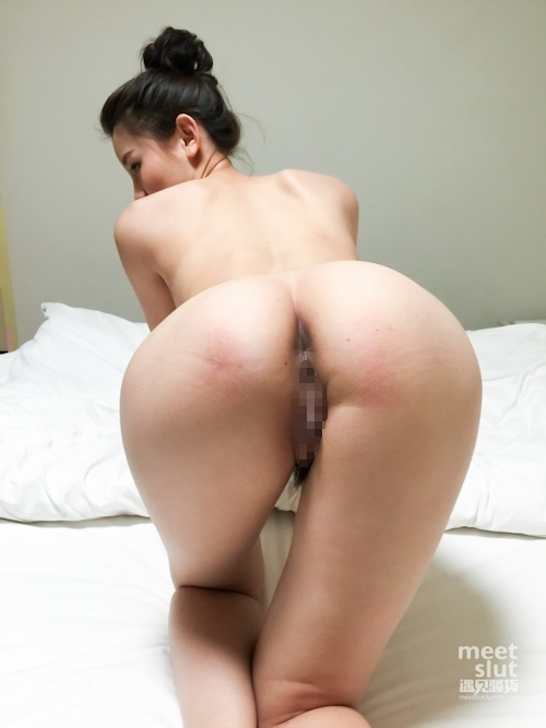 美乳&美脚な中国美女のヌード画像 8