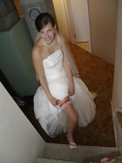 新婚の西洋スレンダー美人若妻のプライベートヌード流出画像 1