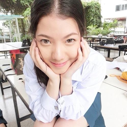 タイの清楚系素人美女の自分撮りヌード流出画像 4