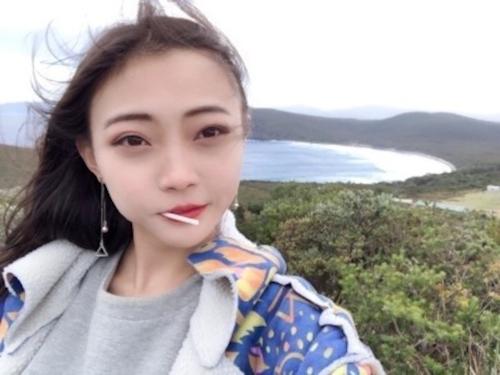 美少女留学生をハメ撮りした画像 1