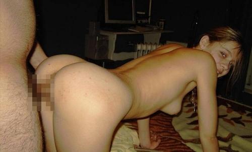 金髪素人美女のプライベートセックス画像 9