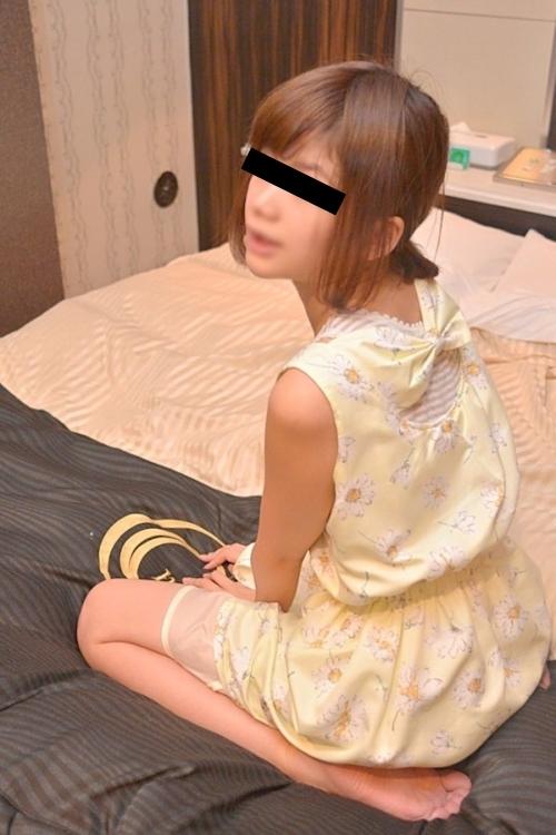 美微乳な茶髪素人美女のハメ撮りセックス画像 1