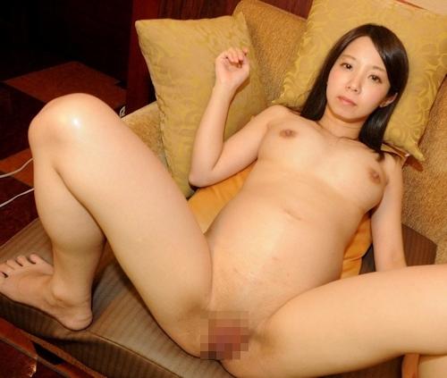 清楚系黒髪パイパン美女のハメ撮り画像 5