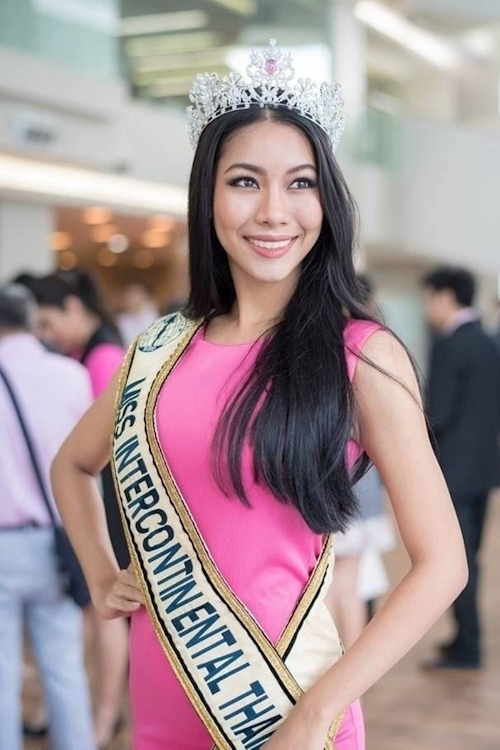 ミス・インターコンチネンタル タイ代表美女の自分撮りヌード画像 1