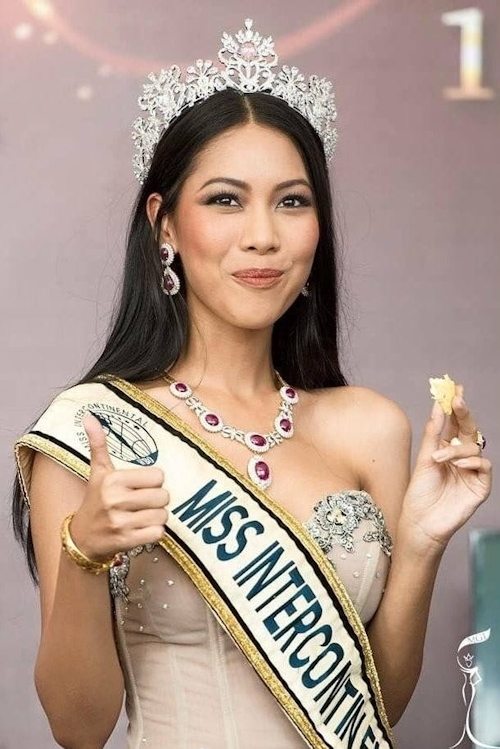 ミス・インターコンチネンタル タイ代表美女の自分撮りヌード画像 2