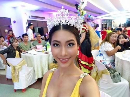 ミス・インターコンチネンタル タイ代表美女の自分撮りヌード画像 3