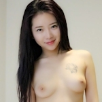 中国美女モデル 鳳林(露露) セクシーヌード画像