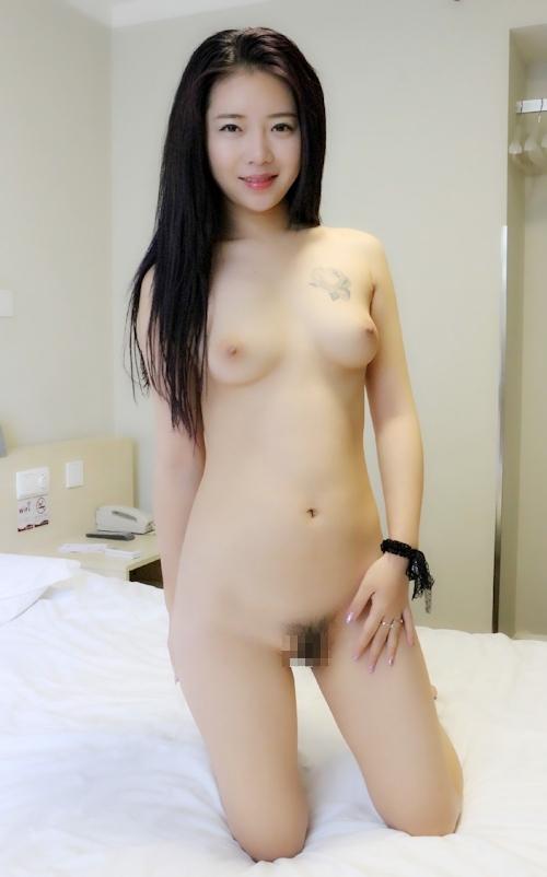 中国美女モデル 鳳林(露露) セクシーヌード画像 3