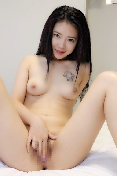 中国美女モデル 鳳林(露露) セクシーヌード画像 8