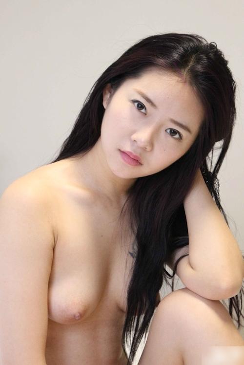 中国美女モデル 鳳林(露露) セクシーヌード画像 11