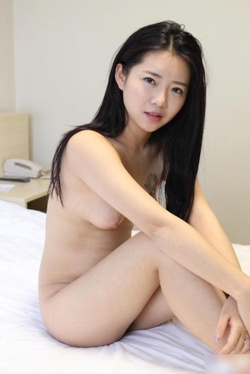 中国美女モデル 鳳林(露露) セクシーヌード画像 13
