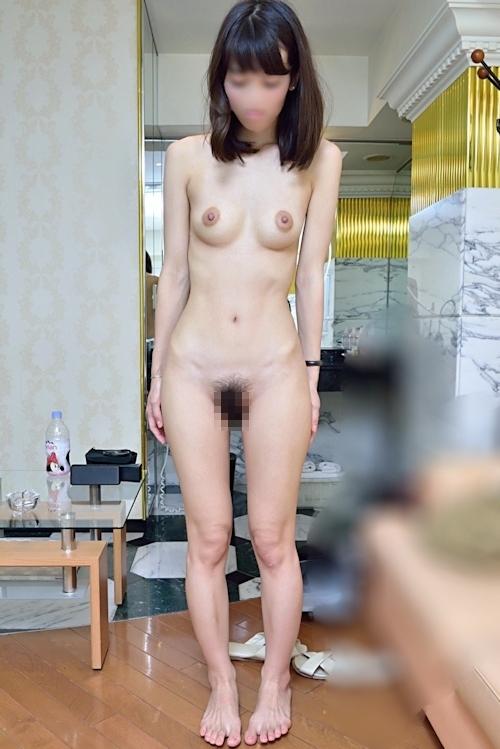 スレンダー美人なガールフレンドのプライベートヌード&ハメ撮り画像 6