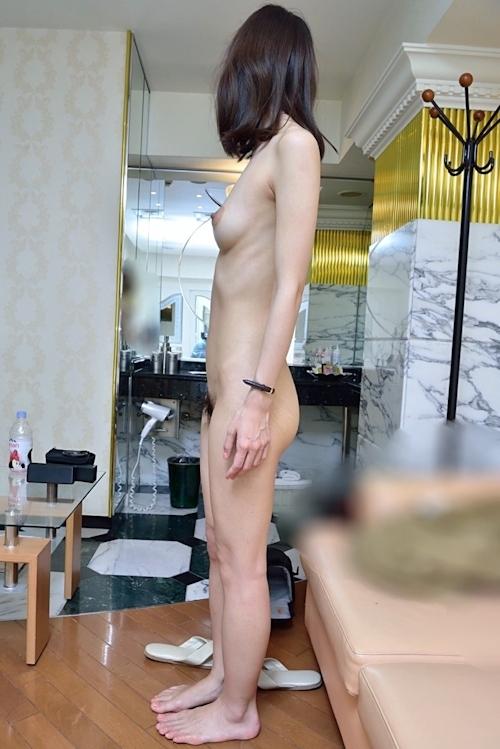 スレンダー美人なガールフレンドのプライベートヌード&ハメ撮り画像 7