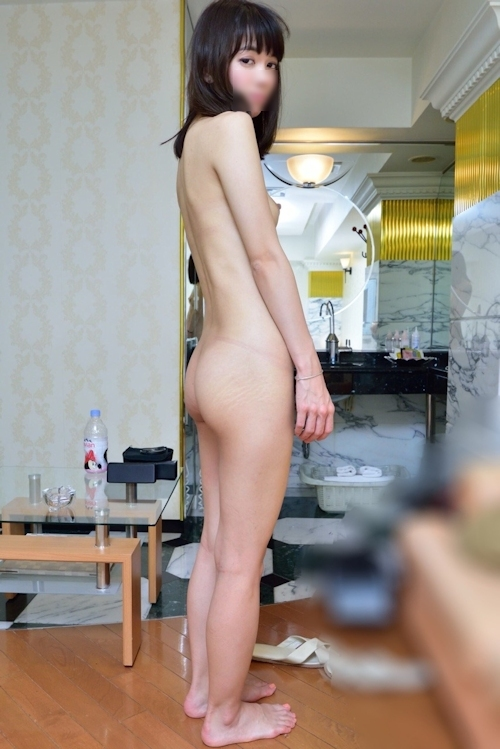 スレンダー美人なガールフレンドのプライベートヌード&ハメ撮り画像 8