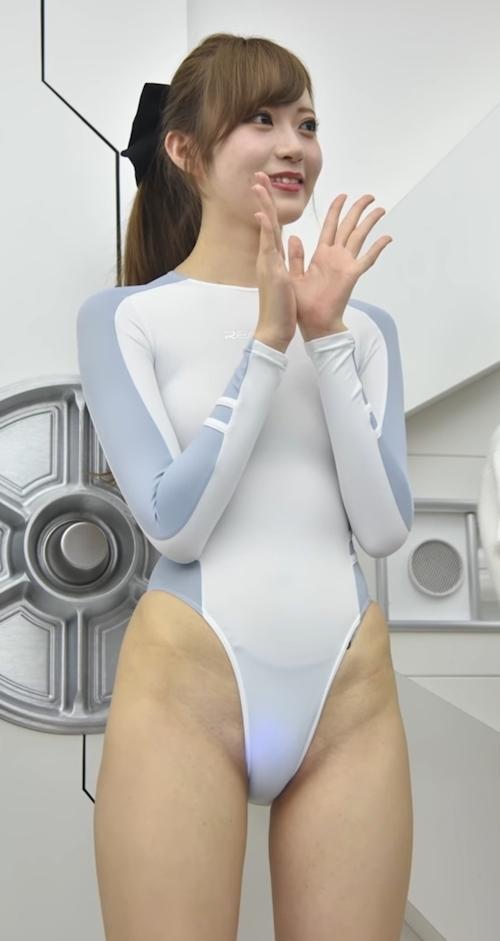 美女のハイレグ食い込み画像 1