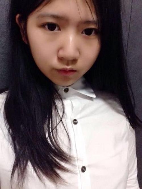 巨乳な10代美少女JDの自分撮りおっぱい画像 3