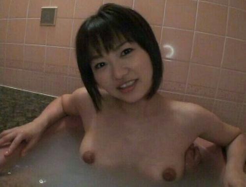 素人美女の入浴ヌード画像 8