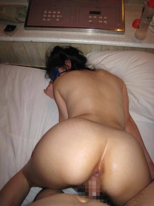 素人女性の目隠しプレイセックス画像 8