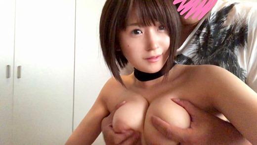 深田結梨 ロリ美巨乳美少女のハメ撮りセックス画像