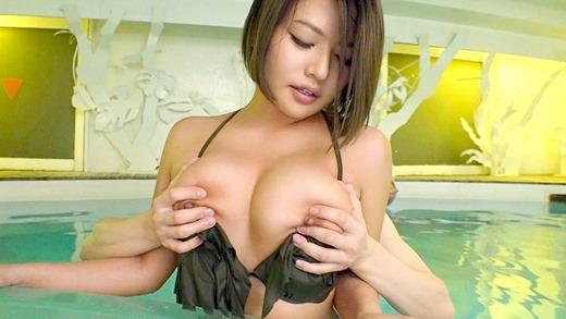 今井夏帆 美巨乳パイパンギャルとハメ撮りセックス画像