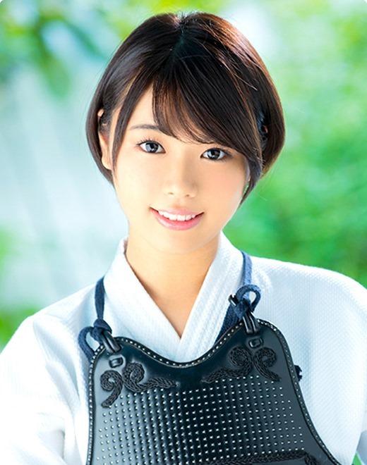 凪咲いちる 美少女剣士生ハメ中出し画像