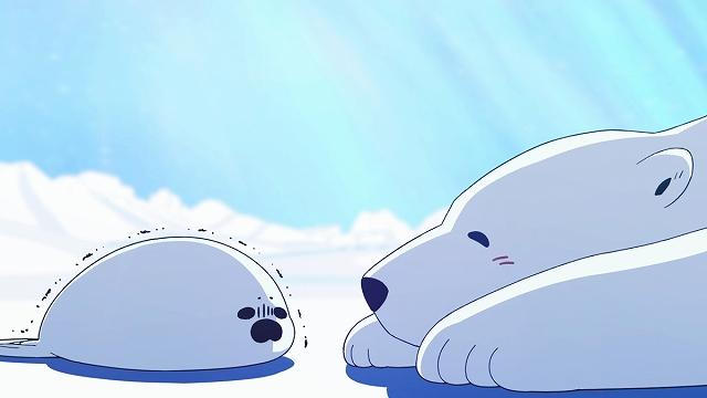 【画像】アニメ顔のアザラシが発見される「水面から頭出そ…外暑っつ!!!!」