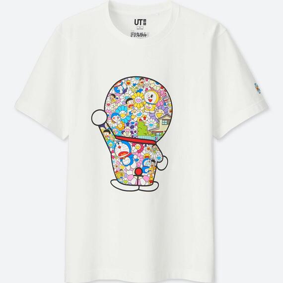 【閲覧注意】ユニクロの新作ドラえもんTシャツがキモいと話題にwwww