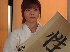 【無】剣道に汗する純情美少女が道場破り達に敗れて美マンに連続中出し♪
