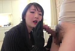 【痴女手コキ】淫語責め痴熟女おち○ぽ弄り!二階堂ゆり