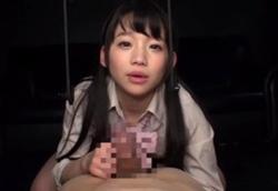 ロリ痴女JKささやき淫語フェラ手コキ!姫川ゆうな1