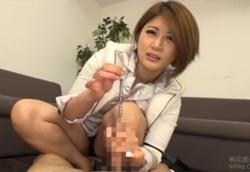 美痴女社長のお仕置き 尿道責め手コキ!推川ゆうり2