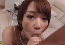 椎名そら 風俗店で働いている可愛い妹を指名して主観フェラ抜き!口内射精しちゃったボク!